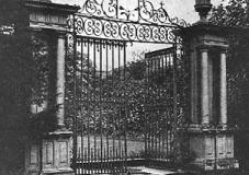 Gates at Cronton Hall