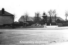 Cronton Road - Smithy Lane corner, Cronton