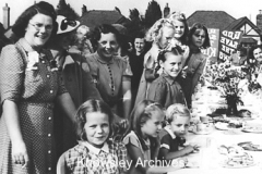 VE-Day street party in Halewood