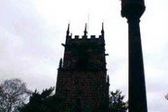 Memorial Cross and St Michael's Parish Church, Huyton