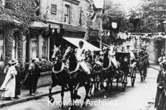 Royal visitors at Huyton