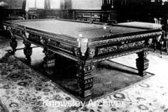 Billiard Room, Ewanville, Huyton