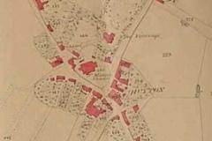 Huyton Tithe Map segment: Huyton Village