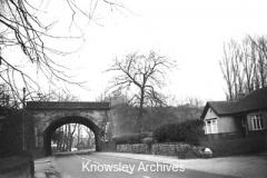 Archway Road railway bridge, Huyton