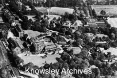 Aerial view of Huyton College