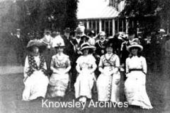 Garden party at Ewanville, Huyton