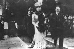 Royal visitors in Huyton