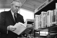 Harold Wilson, M.P. in Huyton