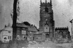 The Wheatsheaf Inn and Huyton Parish Church