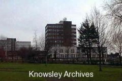 Council Offices from St Chad's Park, Kirkby