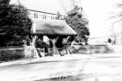 Lych gate, St Chad's Church, Kirkby
