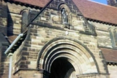 Porch, St Chad's Church, Kirkby