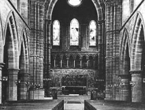 Interior, St Chad's Church, Kirkby