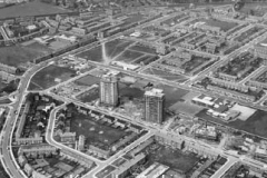 Construction of tower blocks, Kirkby