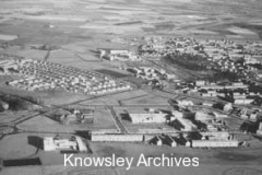 Aerial view of central Kirkby
