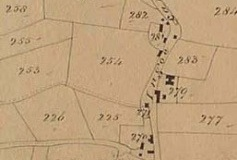 Kirkby Tithe Map detail