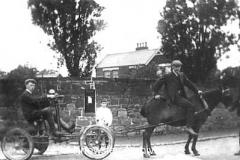 Mr Lamb's motor car, Kirkby
