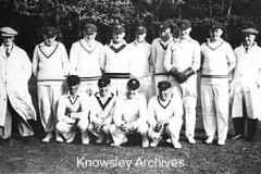 Kirkby's cricket team