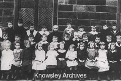 Infant pupils at Kirkby School