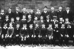 Kirkby School pupils