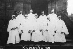 St Chad's Church choir, Kirkby