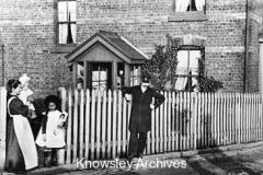Thomas Rothwell Mort, Stationmaster, Kirkby