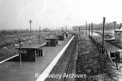 Railway line, Royal Ordnance Factory, Kirkby
