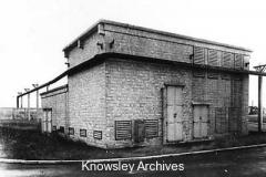 Electricity sub-station, Royal Ordnance Factory, Kirkby