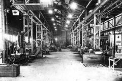 Machine-shop, Royal Ordnance Factory, Kirkby