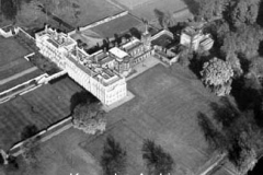 Knowsley Hall from the air