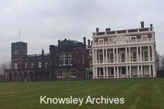 Colonnade at Knowsley Hall