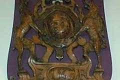 Coat of Arms, St. Mary's Church, Knowsley