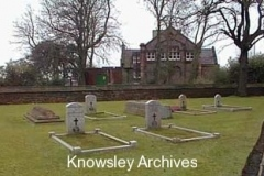 Derby graves, St Mary's Churchyard, Knowsley