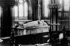 Effigy of Edward, 14th Earl of Derby, St Mary's Church, Knowsley