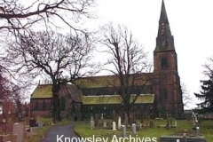 St Mary's Church, Knowsley Village