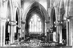 Interior, St Mary's Church, Knowsley Village