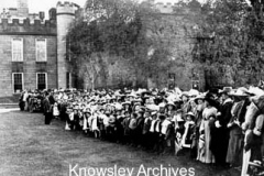 Royal visit to Knowsley Hall, Knowsley