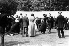 Knowsley Estate tenants at Knowsley Hall