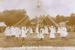 Coronation Day celebrations, Knowsley Hall