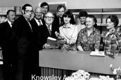 Opening of Knowsley Branch Library