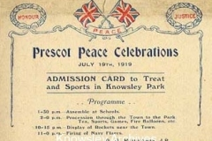Prescot Peace Celebrations at Knowsley Park
