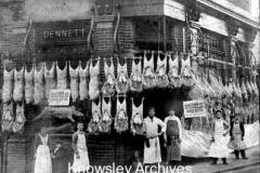 Dennett's butcher's shop, Prescot