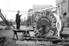 Cable drum of B.I.H.C., Prescot