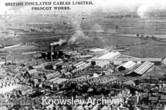 British Insulated Cables Ltd site, Prescot