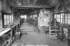 Harry Pybus' workshop, Prescot