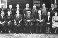 Staff, Prescot Grammar School, Prescot