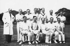 Staff Cricket Team, Prescot Grammar School