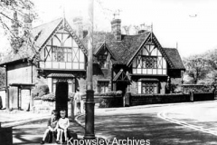Roby Cross and Edenhurst Cottages, Roby