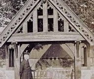 Lychgate, St Bartholomew's Parish Church, Roby