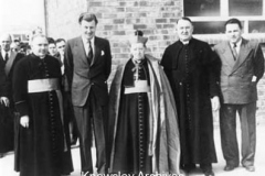 Opening of St Aloysius School, Roby